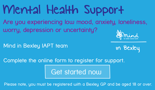 Mental Health Support. Are you experiencing low mood, anxiety, loneliness, worry, depression or uncertainty?
